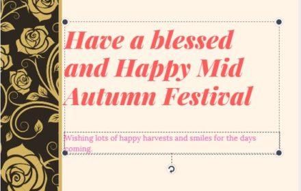 happy mid autumn festival 2018