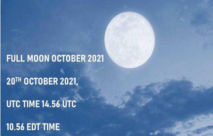 Full moon october 2021