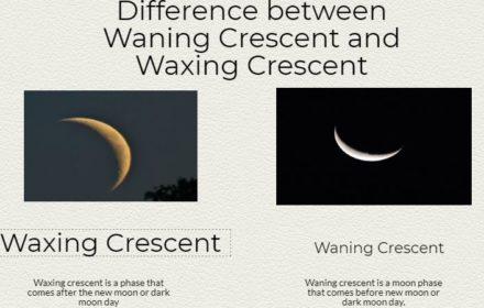 waning gibbous waning crescent