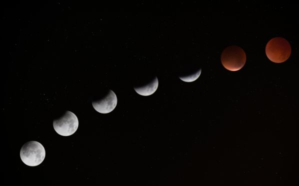 moon phases in order