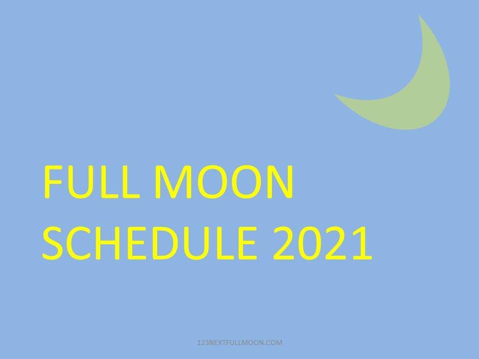 full moon calendar est canada
