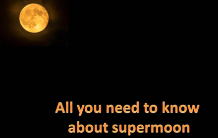 next supermoon