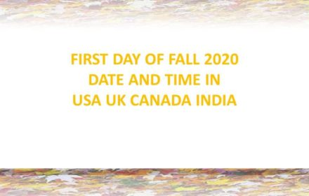 first day of fall 2020 official date and time