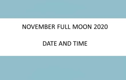november full moon 2020 date time