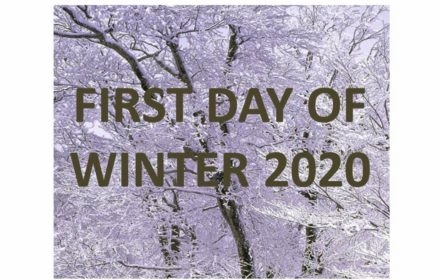first day of winter 2020 USA Canada