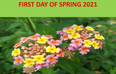 first day of spring 2021
