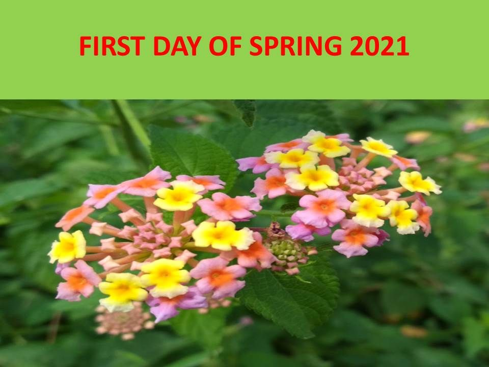first day of spring 2021 official date and time