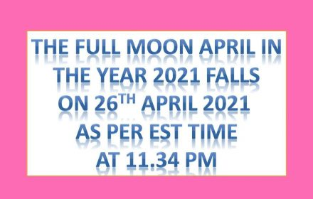 full moon april 2021 pink moon