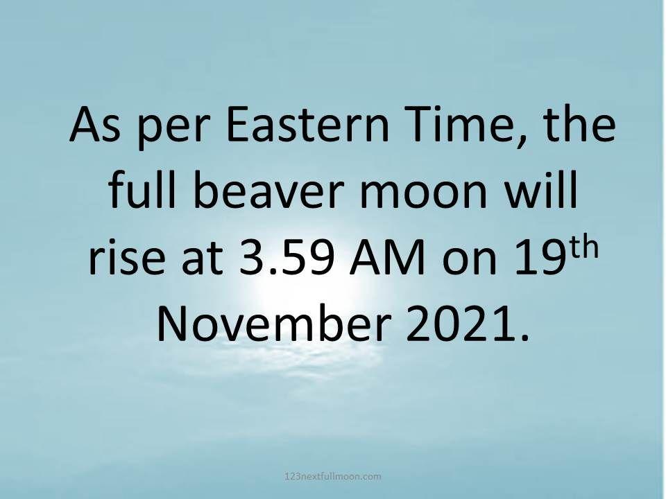 full moon november 2021 schedule