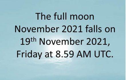 full moon november 2021 usa canada uk