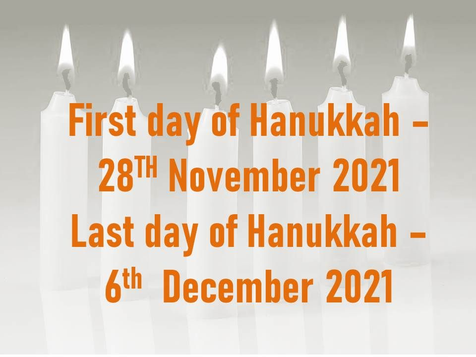 This image has an empty alt attribute; its file name is first-day-of-hanukkah-2021.jpg
