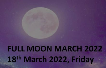 full moon march 2022 schedule